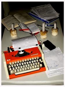art's typewriter